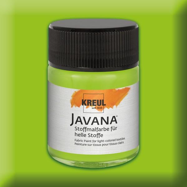 Javana Stoffmalfarbe helle Stoffe 50ml maigrün