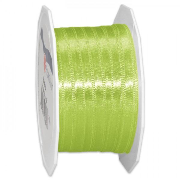 Satinband 10mm 25m apfelgrün 100% Polyester