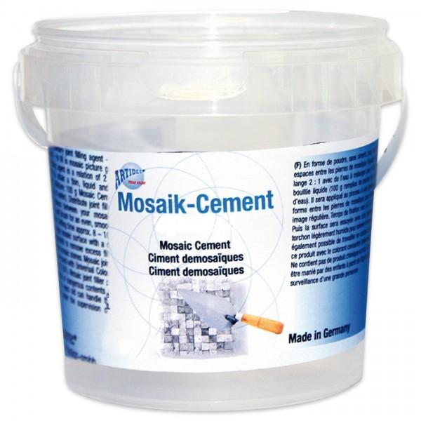 Mosaik-Cement 500g weiß