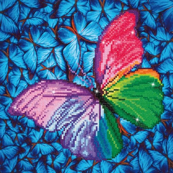 Diamond Dotz 30,5x30,5cm Schmetterling