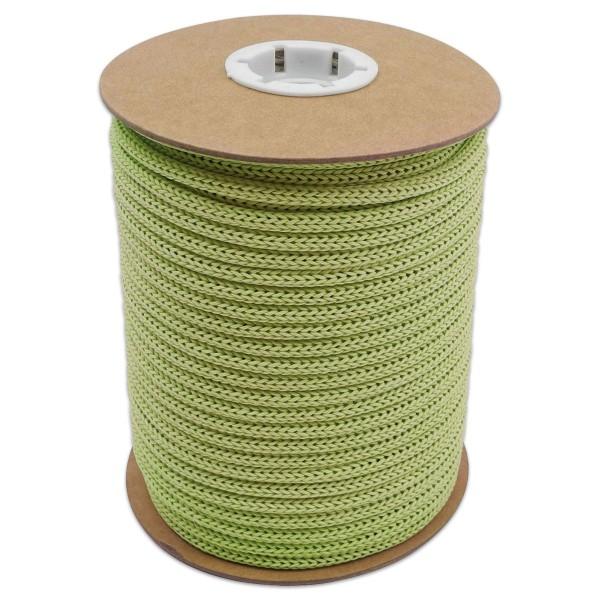 Makramee-Garn - Kordel aus Papier 4mm 30m hellgrün aus recyceltem Material