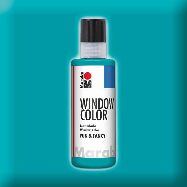Marabu fun&fancy 80ml türkisblau Windowcolor