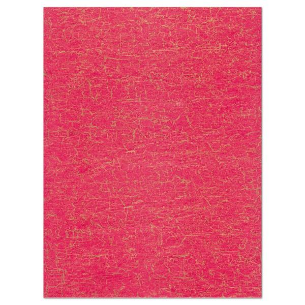 Decoupagepapier rot von Décopatch, 30x40cm, 20g/m²
