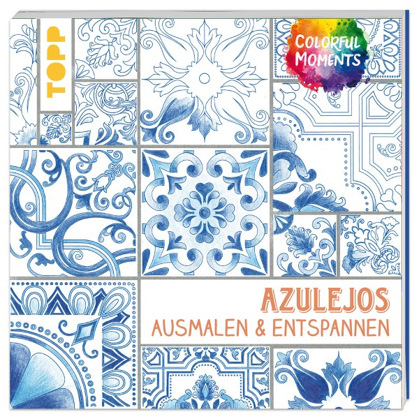 Buch - Colorful World - Azulejos 96 Seiten, 19x19cm, Softcover