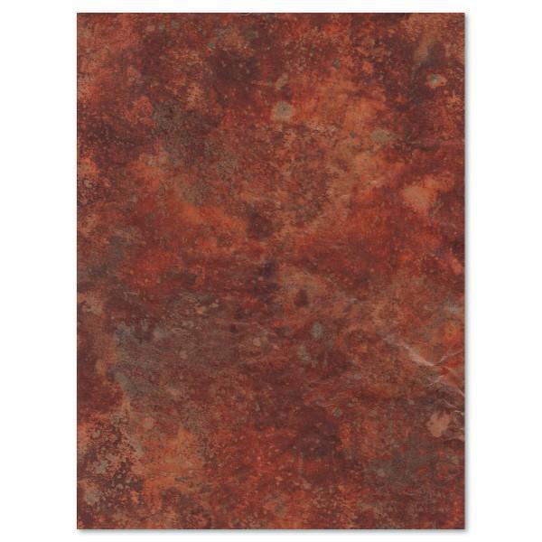Decoupagepapier Marmor dunkelbraun von Décopatch, 30x40cm, 20g/m²
