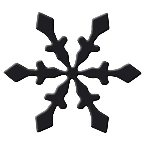 Flexi-Motivstanzer ca. 4cm Kristall Kunststoff/Metall, für Papiere bis 220g/m²