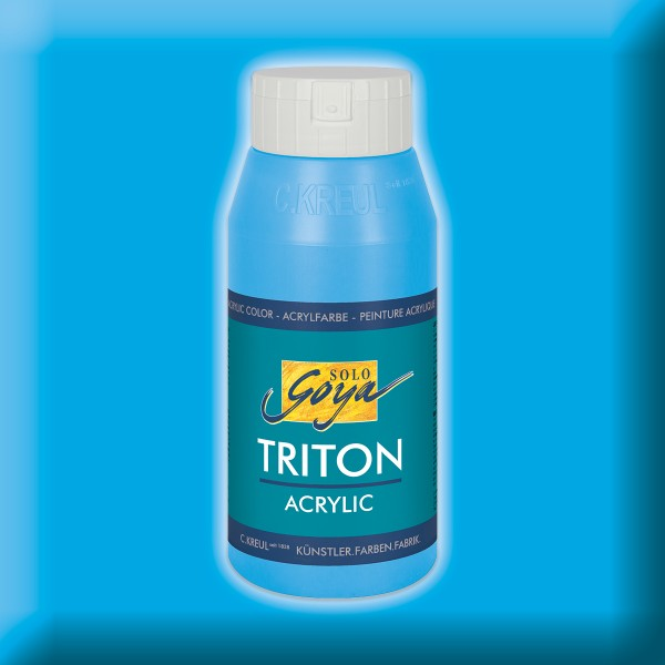 Triton Acrylfarbe 750ml lichtblau