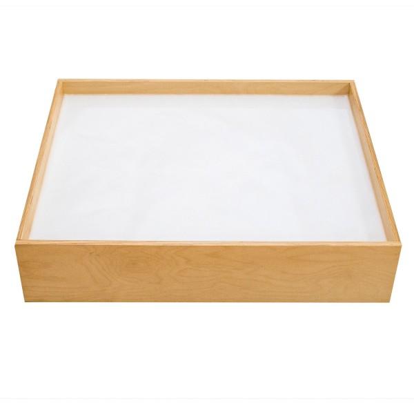 Leuchtsandkasten 84x70x18cm Holz/Acryl
