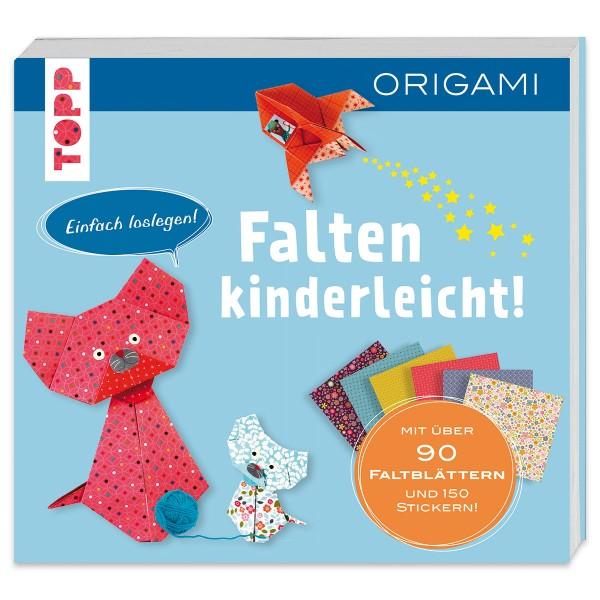 Buch - Falten kinderleicht - Origami für Kinder 264 Seiten, 21x19,5cm, Softcover