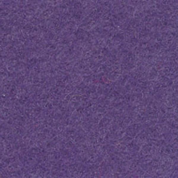 Wollfilz ca. 1-1,2mm 20x30cm blau-lila 100% Wolle