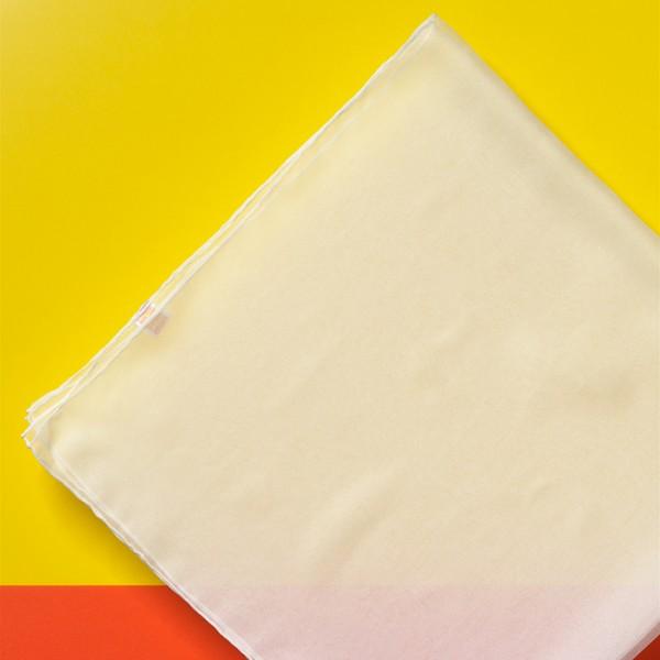 Tücher Chiffon 3,5 ca. 90x90cm 6 St. naturweiß 100% Seide