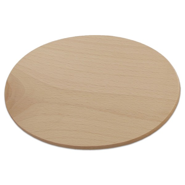 Hartholzbrettchen 1x22x15cm oval natur
