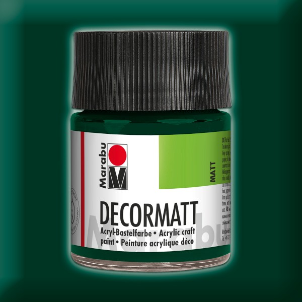 Decorlack Acryl matt 50ml tannengrün