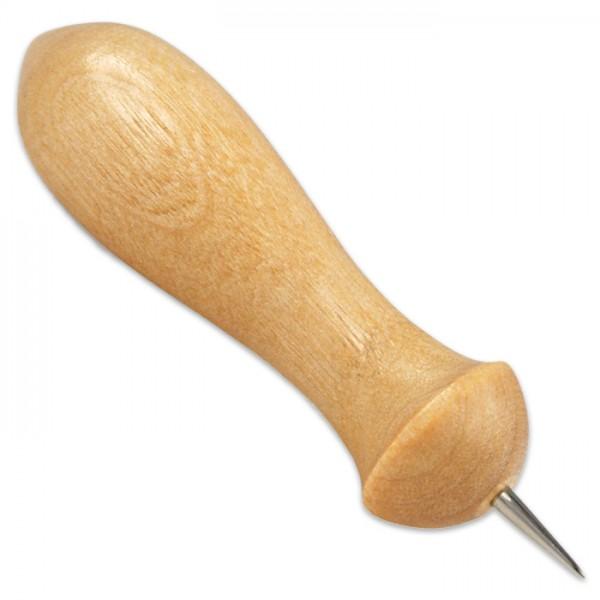 Prickelnadeln mit kurzer Nadel 1cm 2 St. Edelstahl/Holz