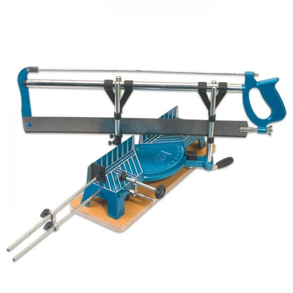 Gehrungssäge für Holz 45-90° Blattlänge 550mm Aluguss, Schnittlänge 300mm, Schnittbreite 125/75