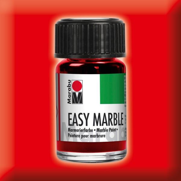 Easy Marble 15ml kirschrot Marmorierfarbe