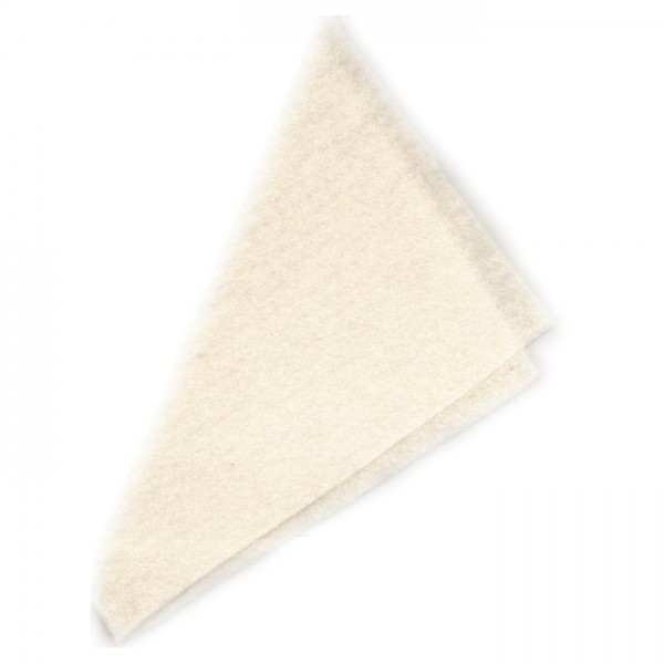 Nadelvlies 19,5mic 120cm 140g/m² natur 100% Wolle