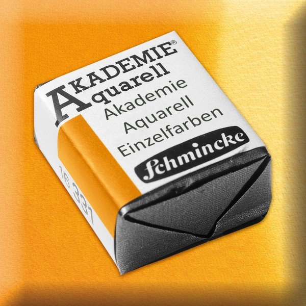 Akademie Aquarell 1,6ml indischgelb ½ Näpfchen