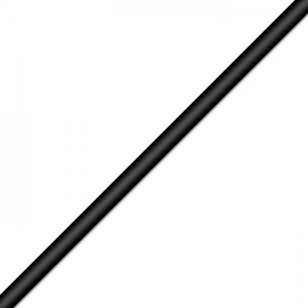 PVC-Band rund 3mm 1m schwarz