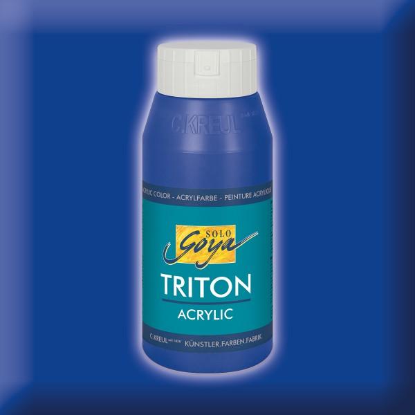 Triton Acrylfarbe 750ml ultramarinblau