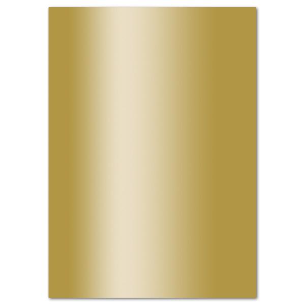 Fotokarton 300g/m² 50x70cm 10 Bl. gold glänzend