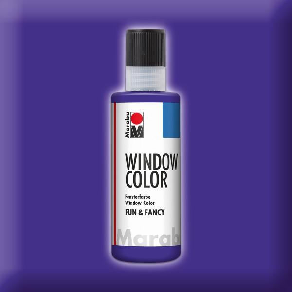 Marabu fun&fancy 80ml violett Windowcolor