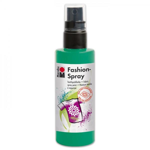 Marabu Fashion-Spray 100ml minze Textilsprühfarbe für helle Stoffe