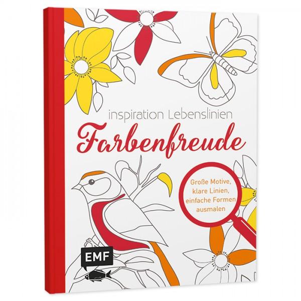 Buch - Ausmalen für Senioren - Farbenfreude 64 Seiten, 21,9x16,7cm, Softcover