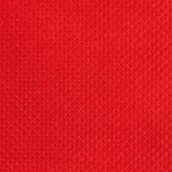 Stoff-Imitat 70g/m² 10m rot 100% Polypropylen, 125cm breit