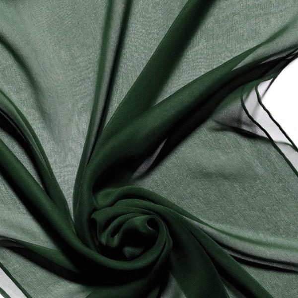 Schal Chiffon 3,5 55x180cm tanne 100% Seide