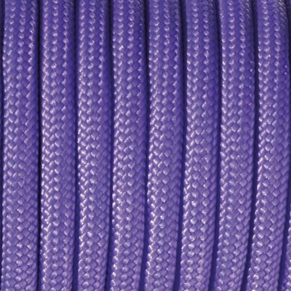 Paracord-Garn rund 4mm 4m lila Makramee-Knüpfgarn, 60% Polypropylen, 40% Polyester