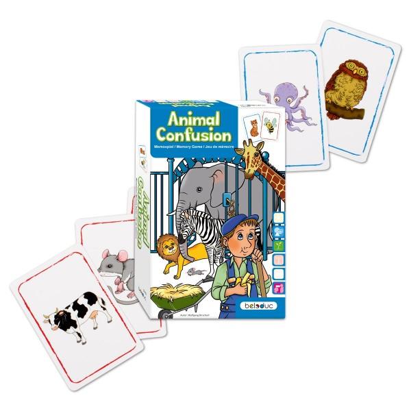 Kartenspiel - Animal Confusion ab 4 Jahren