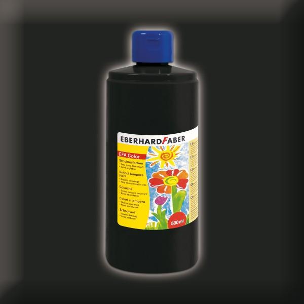 Color-Schulmalfarbe 500ml schwarz