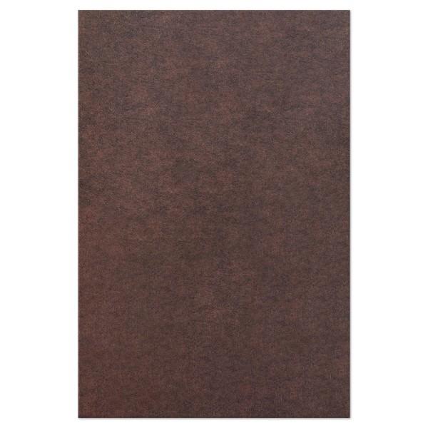 TRENDYfilz 3mm 75x50cm dkl.braun meliert 100% Polyester