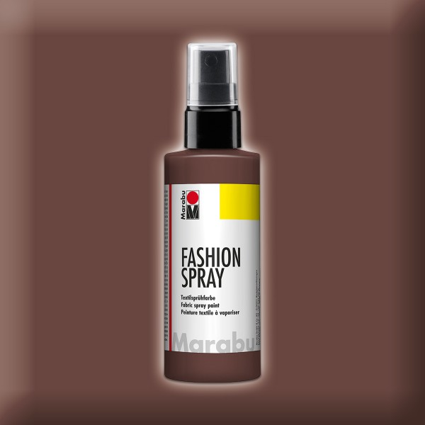 Marabu Fashion-Spray 100ml kakao Textilsprühfarbe für helle Stoffe