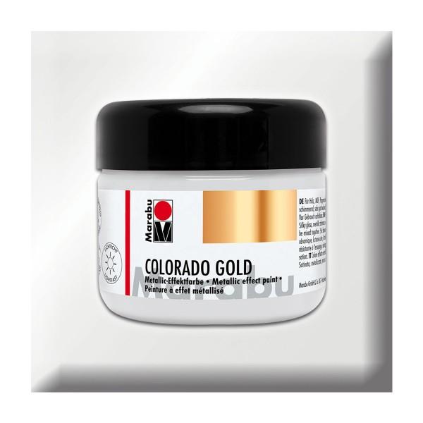 Marabu Colorado Gold 225ml metallic-silber