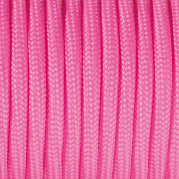 Paracord-Garn rund 4mm 4m pink Makramee-Knüpfgarn, 60% Polypropylen, 40% Polyester