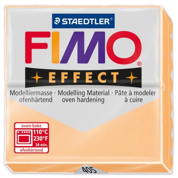 FIMO effect 55x55x15mm 57g pastell pfirsich ofenhärtende Modelliermasse