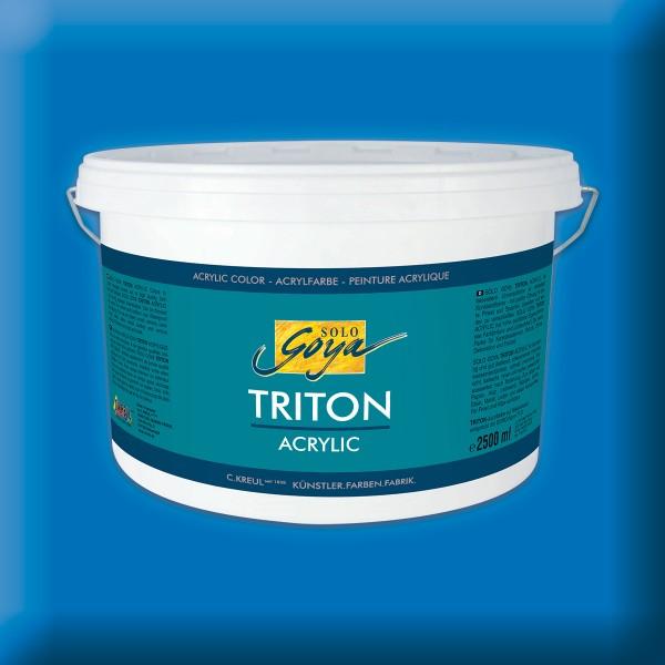 Triton Acrylfarbe 2.500ml primärblau
