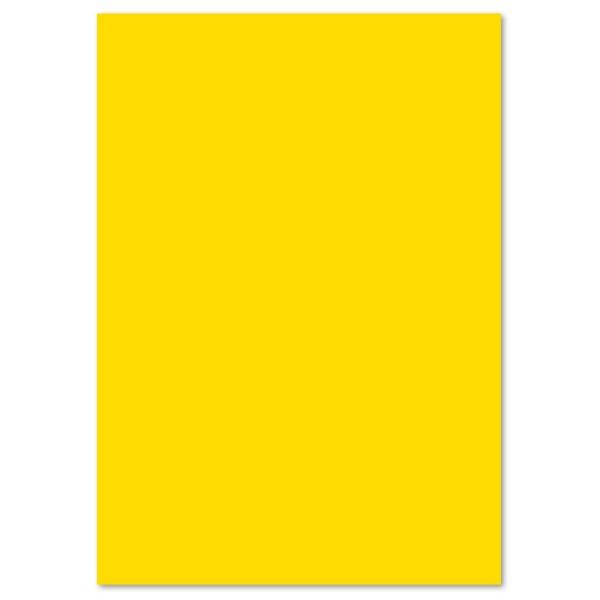 Tonpapier 130g/m² DIN A4 100 Bl. bananengelb