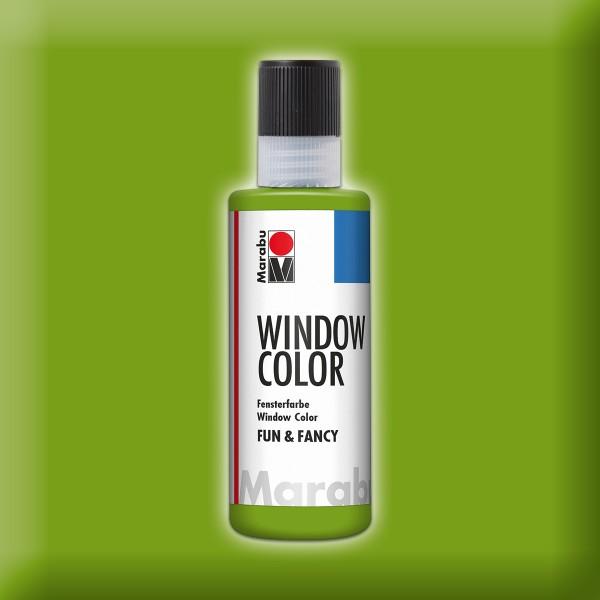 Marabu fun&fancy 80ml olivgrün Windowcolor