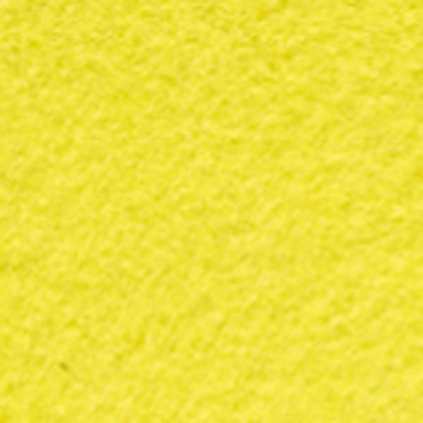 Bastelfilz ca. 1mm 45cm 5m Rolle zitronengelb 150g/m², 100% Polyester, klebefleckenfrei