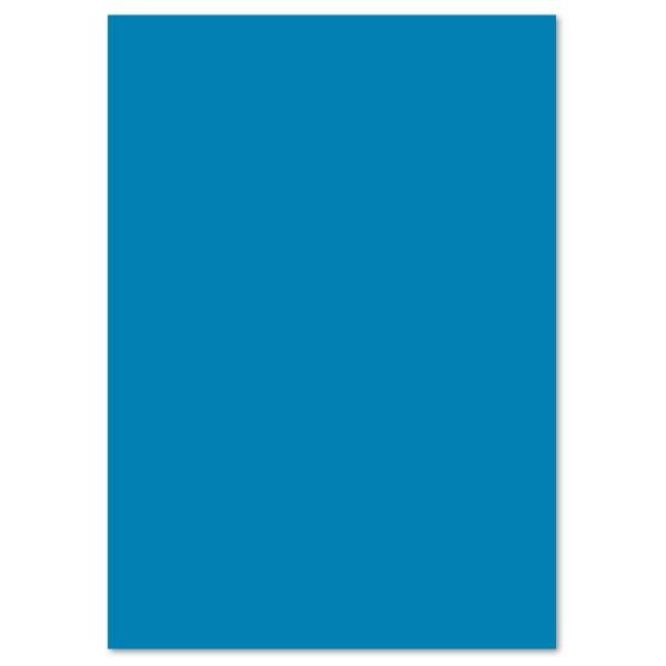 Tonpapier 130g/m² DIN A4 100 Bl. mittelblau