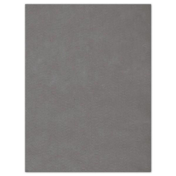 Wollfilz-Platte 4mm 30x40cm grau 70% Polyester, 30% Wolle