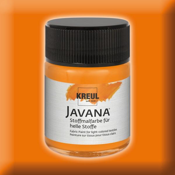 Javana Stoffmalfarbe helle Stoffe 50ml orange