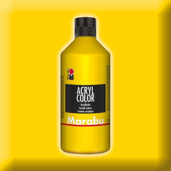 Marabu Acryl Color 500ml gelb