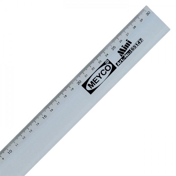 Aluminiumlineal 4cm breit 30cm lang