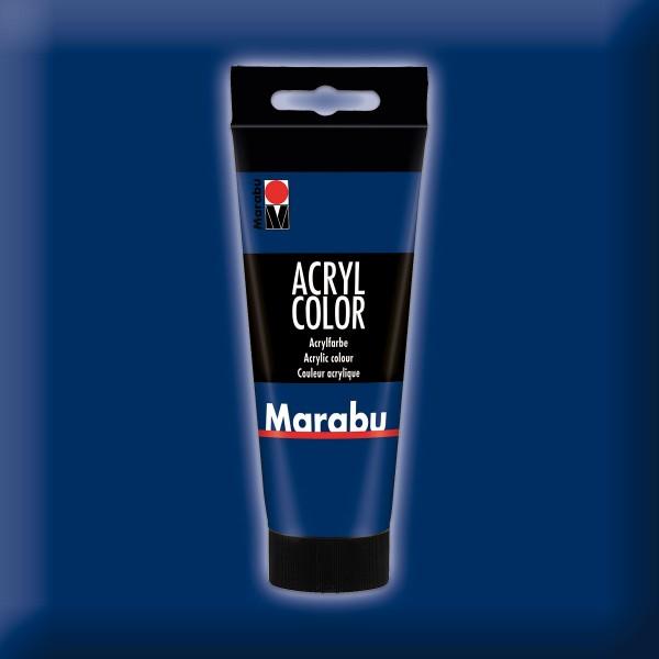 Marabu Acryl Color 100ml dunkelblau