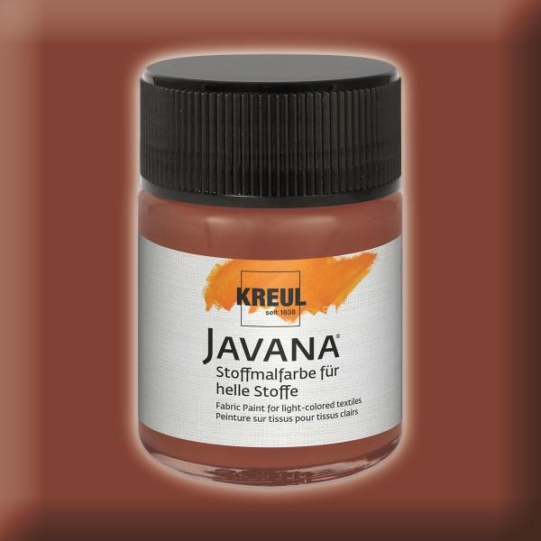 Javana Stoffmalfarbe helle Stoffe 50ml rehbraun