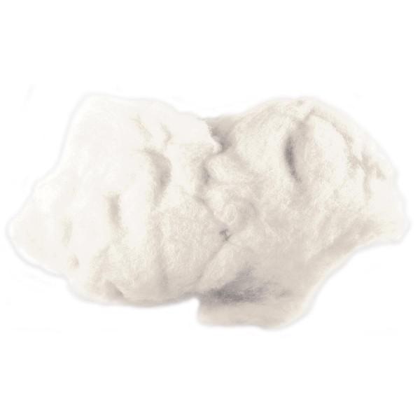 Krempelwolle max. 26mic 100g naturweiß 100% Wolle von neuseeländischen Schafen